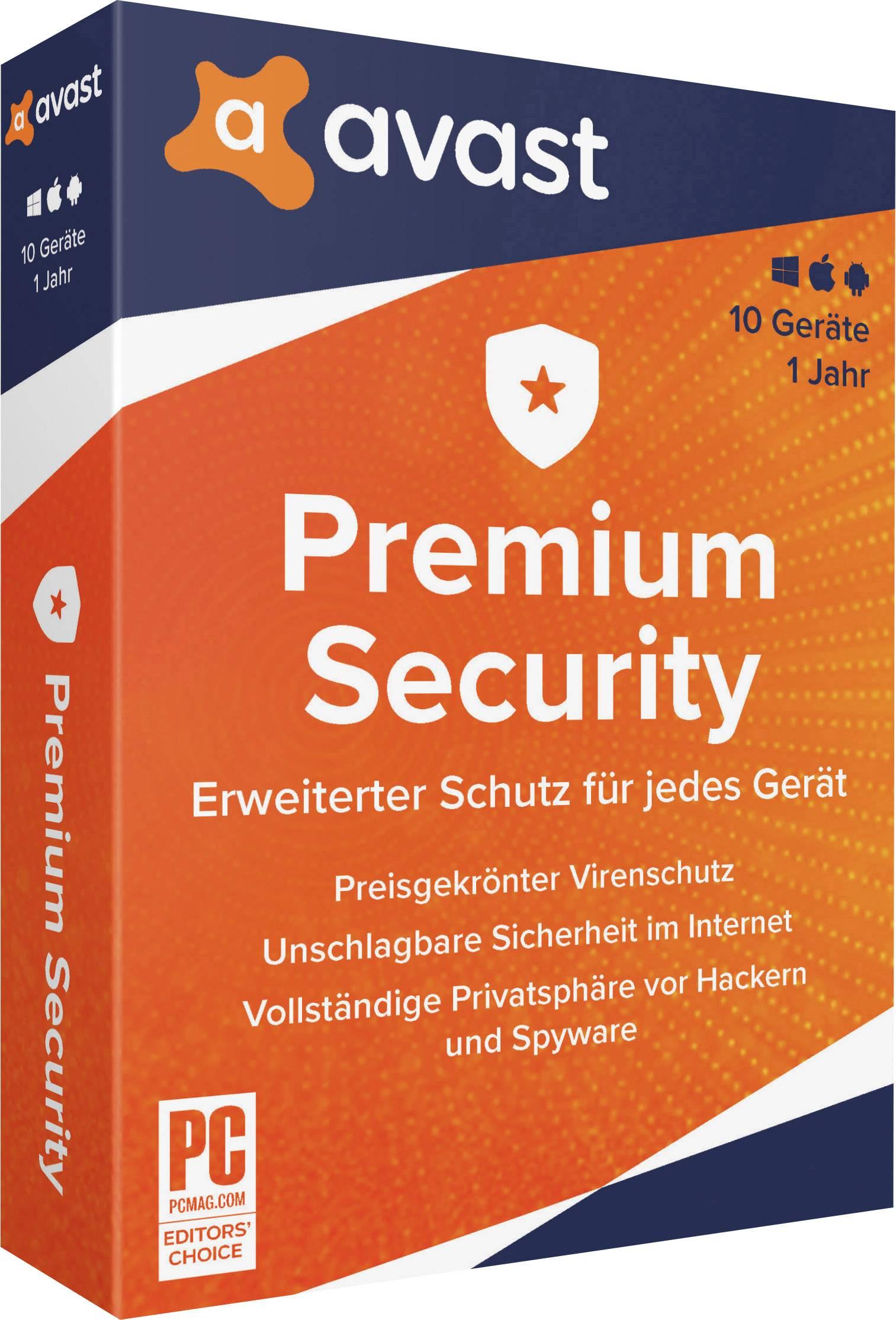 avast Premium Security - 2020 (Multi-Device) Full version ...