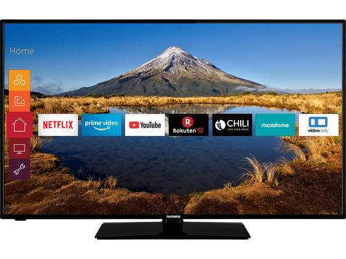 Telefunken D50U446A LED-TV 127 cm 50 inch Energielabel G (A - G) DVB-T2, DVB-C, DVB-S, UHD, Smart TV, WiFi, CI+* Zwart