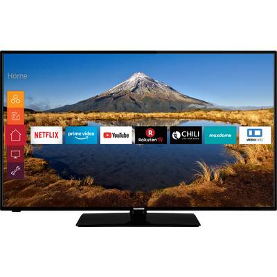 Image of Telefunken D50U446A LED TV 127 cm 50 inch EEC A+ (A+++ - D) DVB-T2, DVB-C, DVB-S, UHD, Smart TV, Wi-Fi, CI+ Black