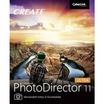 Image of Cyberlink PhotoDirector 11 Ultra Full version, 1 licence Windows Illustrator