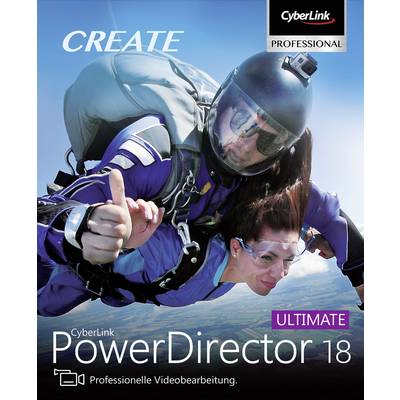 Image of Cyberlink PowerDirector 18 Ultimate Full version, 1 licence Windows Video editor