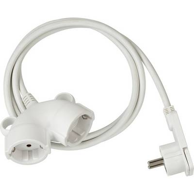 Image of Brennenstuhl 1161820225 Current Cable extension White 5.00 m