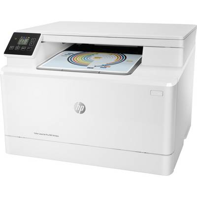Image of HP Color LaserJet Pro MFP M182n Colour laser multifunction printer A4 Printer, scanner, copier LAN, USB