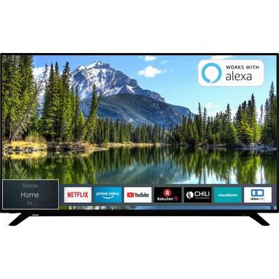 Toshiba 65U2963DA LED TV 164 cm 65 inch EEC A+ (A++ - E) DVB-T2, DVB-C, DVB-S, UHD, Smart TV, Wi-Fi, PVR ready, CI+ Black