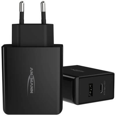 Ansmann Home Charger 254PD 1001-0096 USB charger Mains socket 2 x USB, USB-C socket