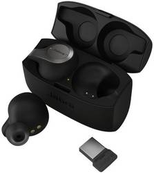 Jabra Evolve 65t Uc Headset Stereo Bluetooth Stereo Cordless In Ear Black Conrad Com