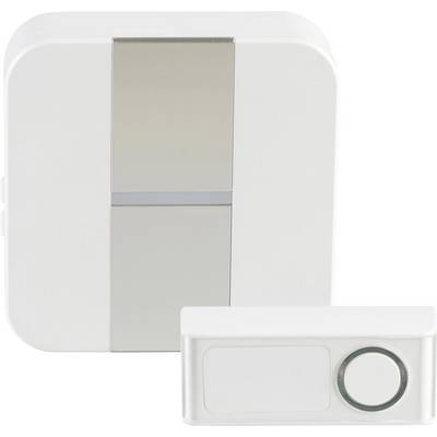 Image of Heidemann 70706 Wireless door chime Complete set incl. flash