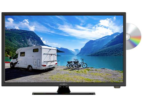 Reflexion LED-TV 22 inch Energielabel F (A - G) CI+*, DVB-C, DVB-S2, DVB-T2 HD, PVR ready, DVD-speler, Full HD Zwart (glanzend)