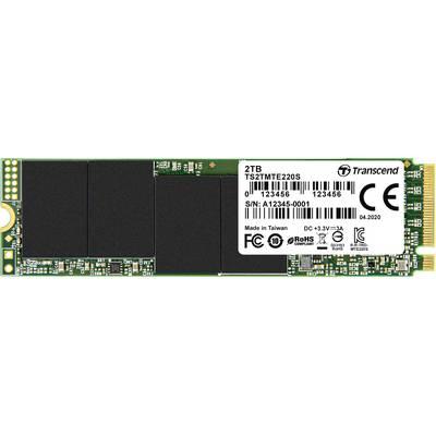 Image of Transcend TS2TMTE220S NVMe/PCIe M.2 internal SSD 2 TB 220S Retail M.2 NVMe PCIe 3.0 x4
