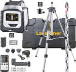 360° line laser with laser receiver, stand and bar