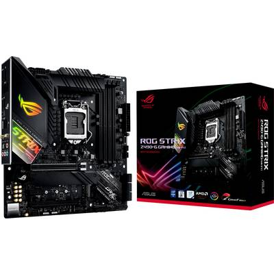 Image of Asus ROG STRIX Z490-G GAMING(WI-FI) Motherboard PC base Intel® 1200 Form factor Micro-ATX Motherboard chipset Intel® Z490