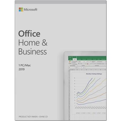 Image of Microsoft Home and Business 2019 Full version, 1 licence Windows, Mac OS Office package