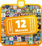 Tiger ticket-12 month SUBSCRIPTION for Tigerbox Touch Tigertones streaming service