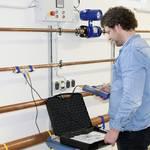 Flow meter / heat meter PCE-TDS 100H+