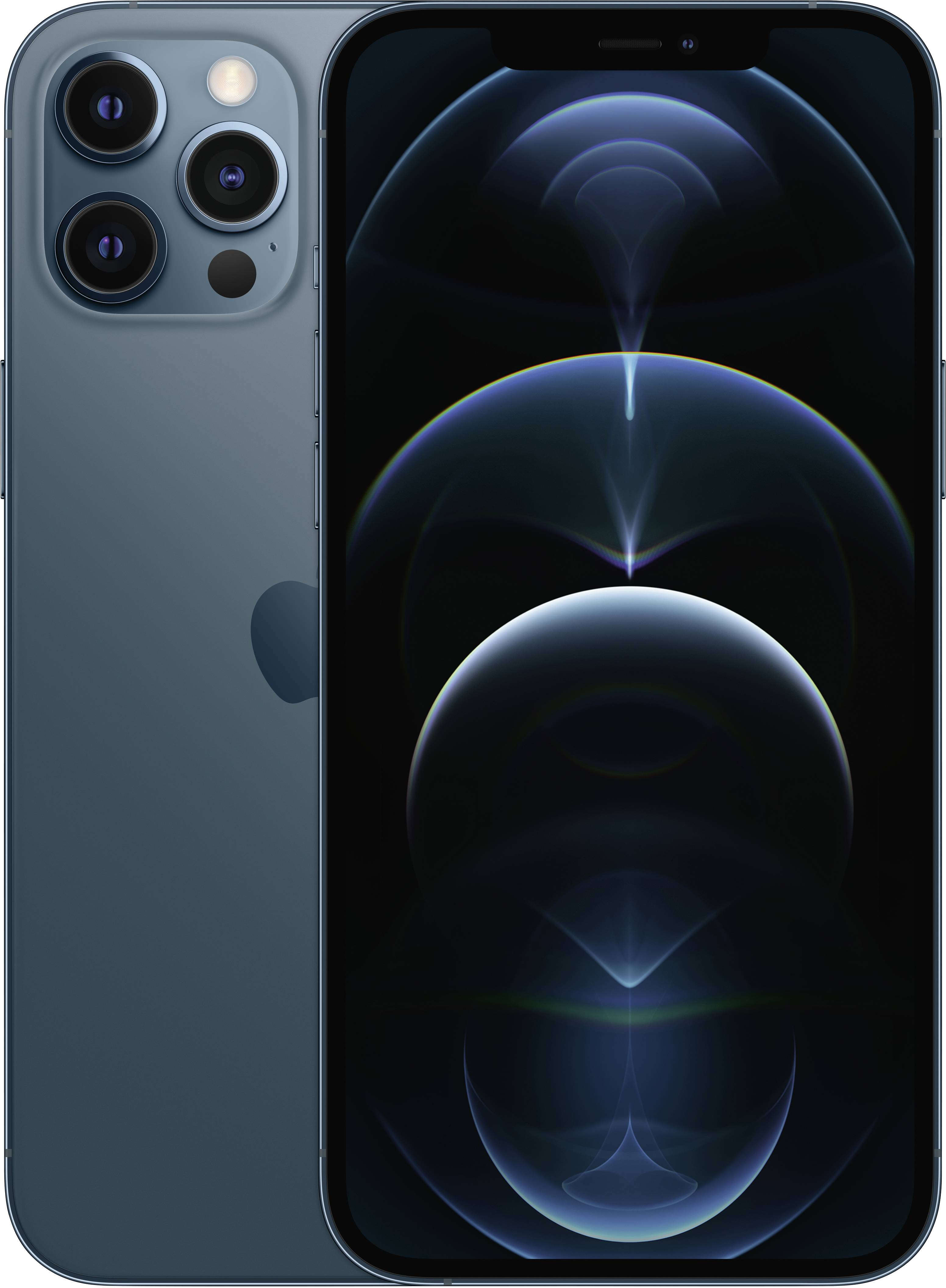 Apple iPhone 12 Pro Max iPhone 256 GB 6.7 inch (17 cm) Dual SIM iOS 14  Pacific blue