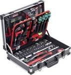 Tool case 131-part, Knipex & Wera