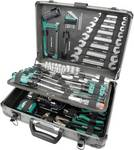 Aluminum tool case, fitted, 133-piece