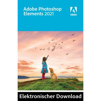 Image of Adobe Photoshop Elements 2021 1-year, 1 licence Windows, Mac OS Illustrator
