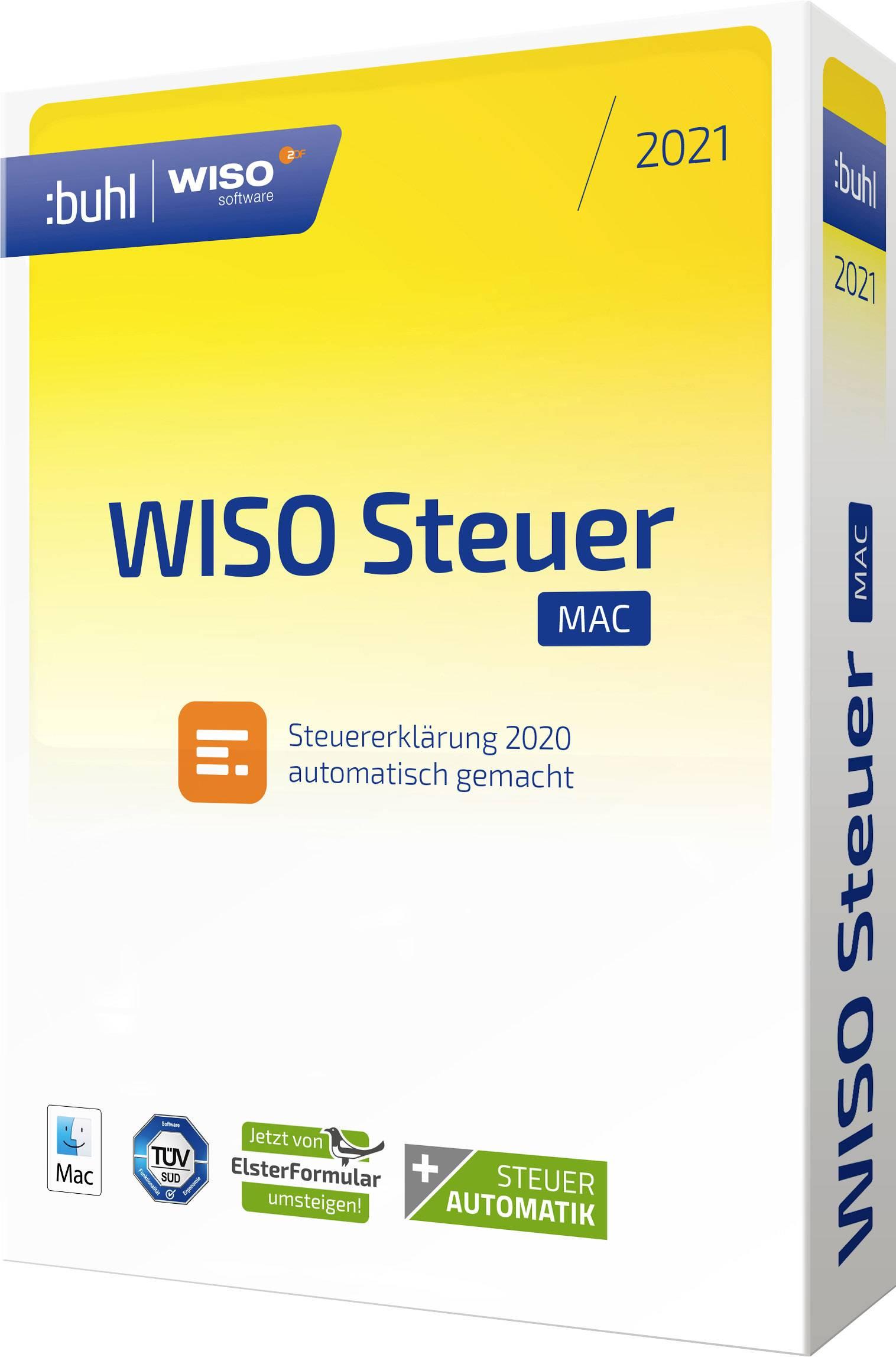 WISO Steuer Mac 2021 Control | Conrad.com
