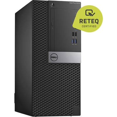 Dell Optiplex 5040MT Desktop PC, Midi tower PC Refurbished (very good) Intel® Core™ i3 i3-6100 8 GB 1 TB HDD 128 GB SSD Intel HD Graphics 530 Windows® 10 Home
