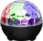 Bluetooth® speaker with movable disco light for ceiling light