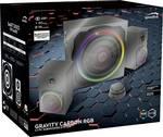 gravity CARBON RGB 2.1 Subwoofer System, black