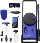 Nilfisk Core 140-8 high pressure cleaner in hand PowerControl Premium car wash