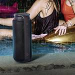 Bluetooth® speaker Pipe 2.0 splash-proof 24 W black