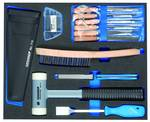 Tool assortment in 2/4 check tool module