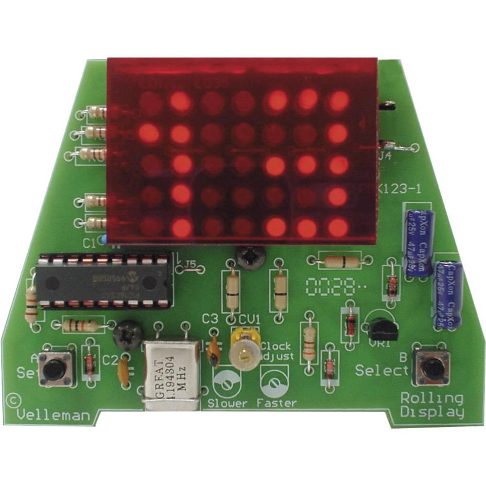 Velleman Mk123 Digital Led Clock Kit From Conrad Electronic Uk Circuit