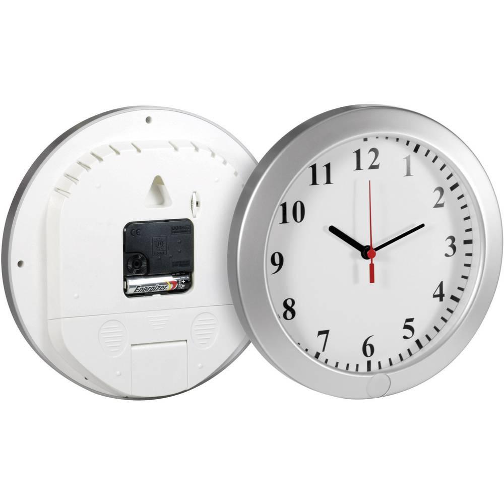 Skrivena nadzorna kamera u kućištu zidnog sata s funkcijom snimanja i utorom za memorijsku karticu Technaxx 4218
