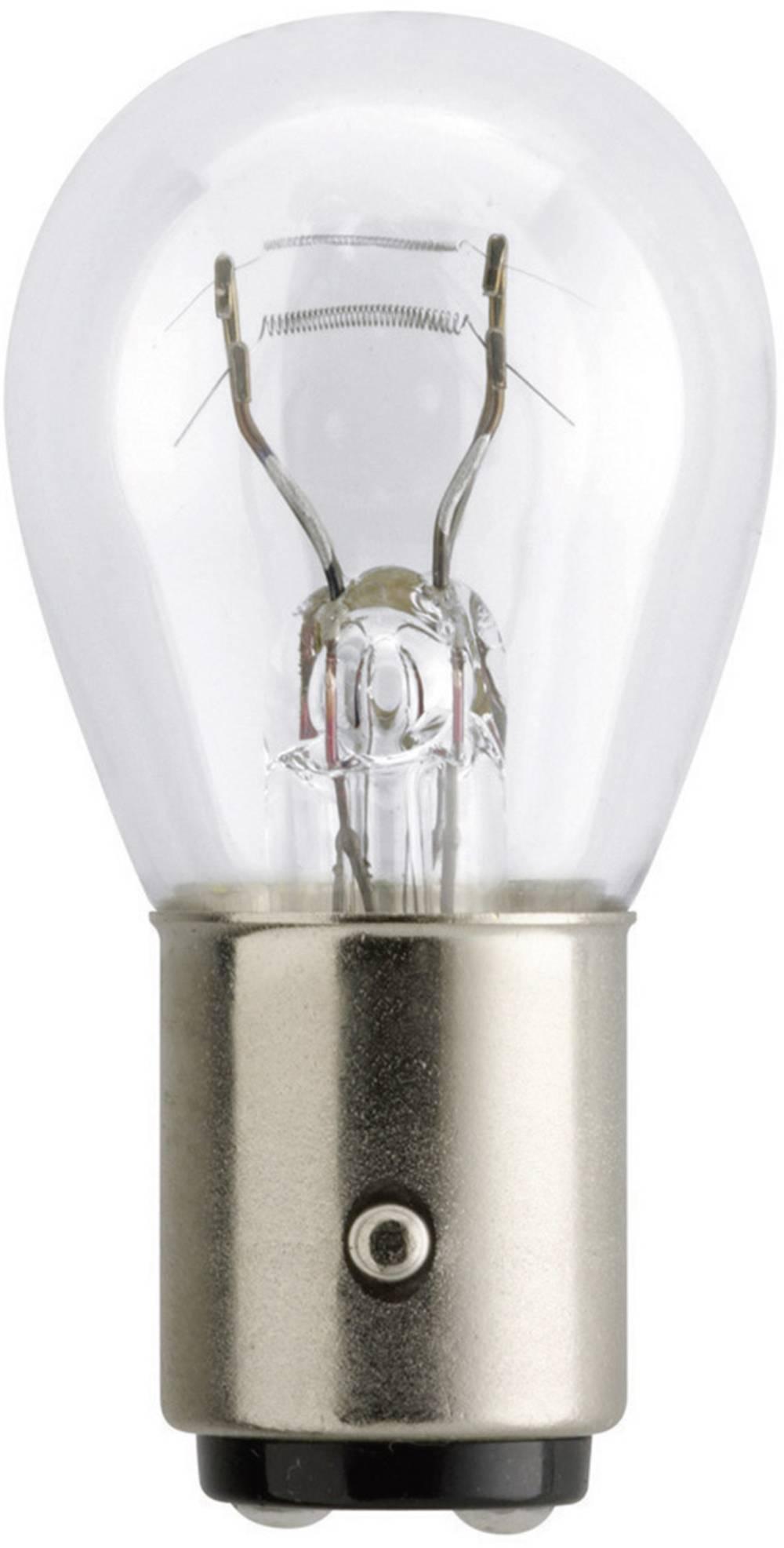 Avtomobilska žarnica Philips, P21/5W, 12 V,1 par, BAY15D, prozorna 5545330