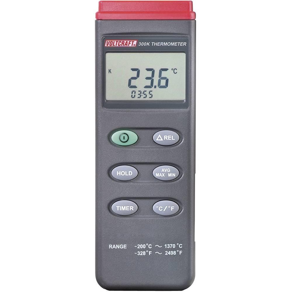 Mjerač temperature VOLTCRAFT K201 -200 do +1370 °C senzor tipa K kalibriran prema: tvorničkom standardu