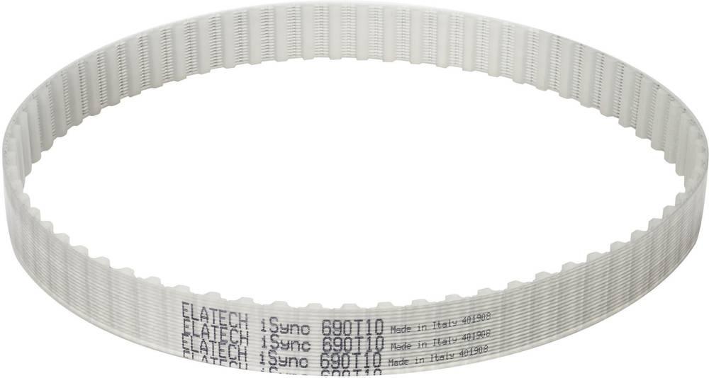 Zobati jermen SIT ELATECH iSync Profil T10 širina: 25 mm skupna dolžina: 450 mm število zob: 45