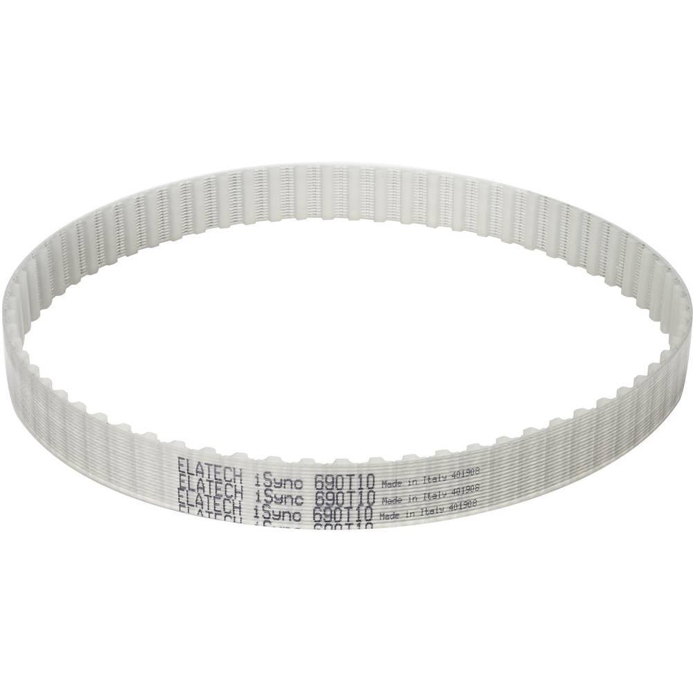Zobati jermen SIT ELATECH iSync Profil T5 širina: 10 mm skupna dolžina: 360 mm število zob: 72