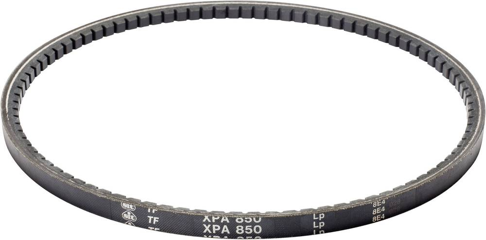 Klinasti jermen SIT XPA1250 skupna dolžina: 1250 mm širina prereza:: 12.7 mm višina prereza:: 10 mm primeren za: Klinasti škripe