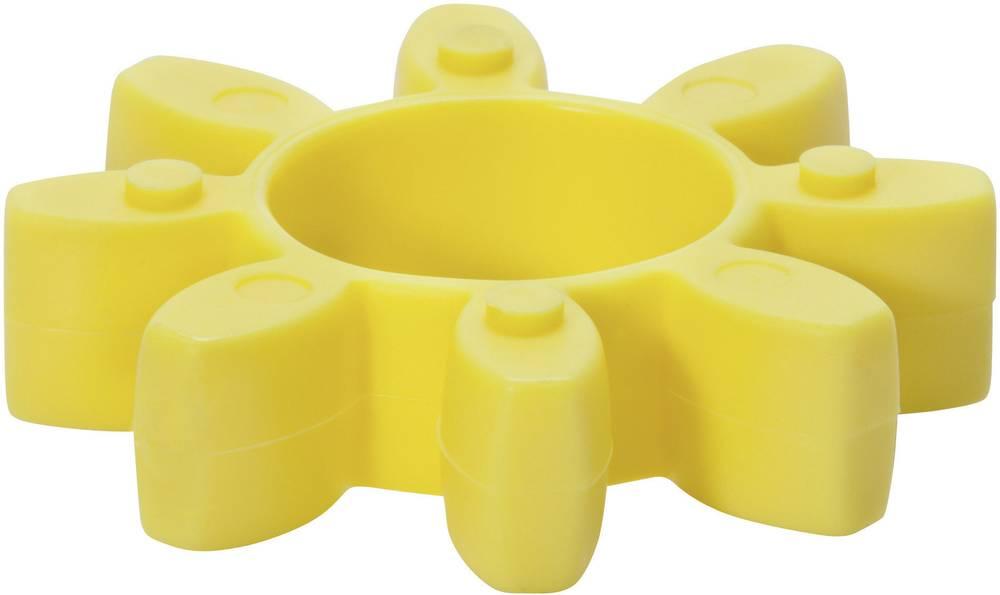 Krempljasta sklopka v obliki zvezde SIT GAR90100 rumene barve, tipa 90/100