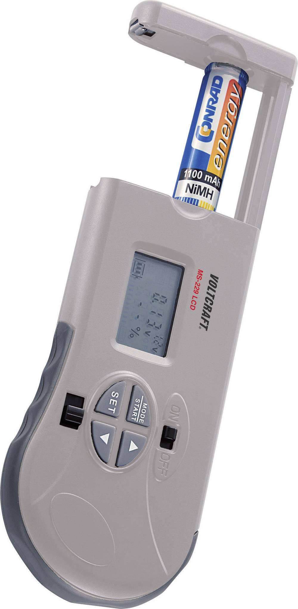 VOLTCRAFT MS-229 LCD baterijski tester za 1,2 - 12 V baterije/akumulatorje