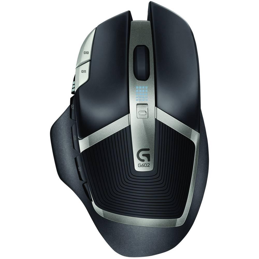 Radijski miš za igrače optički Logitech G602 crni 910-003822