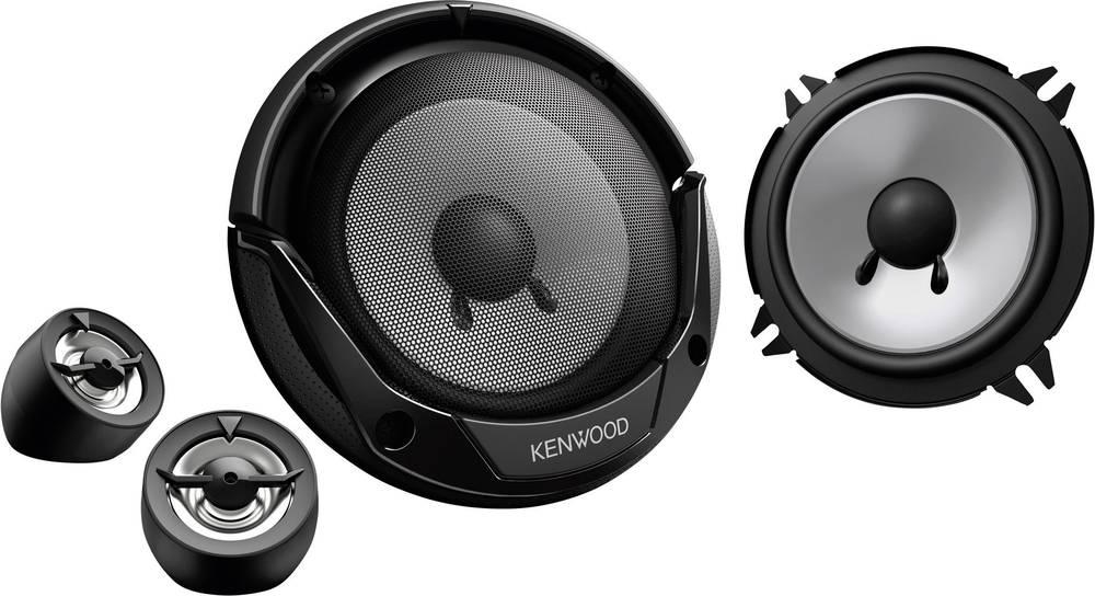 2-sustavni zvučnici za ugradnju Kenwood KFC-E130P, 250 W, komplet