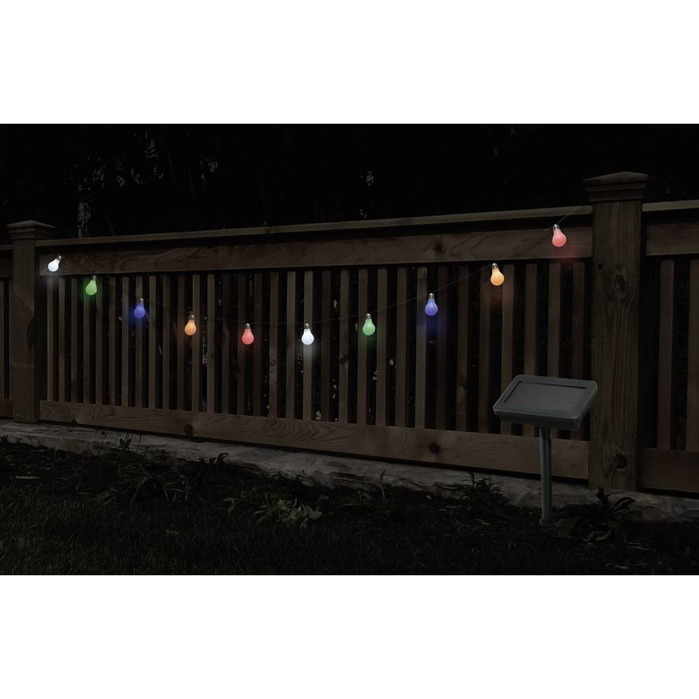 Osvjetljenje za zabave, solarni svjetlosni lanac Renkforce 13-C002-SL 10 komada