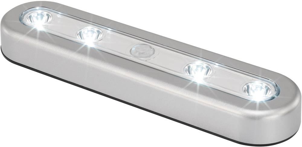 Majhna prenosna senzorska LED-svetilka z detektorjem gibanja Renkforce, fiksno vgrajene LED, SN301S LED