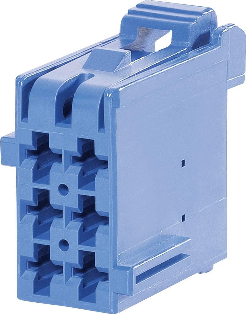 Tilslutningskabinet-kabel J-P-T Samlet antal poler 6 TE Connectivity 1-965640-3 Rastermål: 5 mm 1 stk