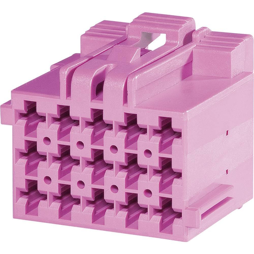 Tilslutningskabinet-kabel J-P-T Samlet antal poler 15 TE Connectivity 1-967623-6 Rastermål: 5 mm 1 stk