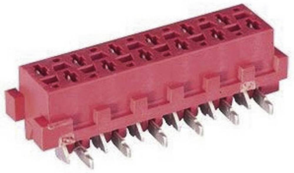 Tilslutningskabinet-printplade Micro-MaTch Samlet antal poler 18 TE Connectivity 8-188275-8 Rastermål: 1.27 mm 1 stk