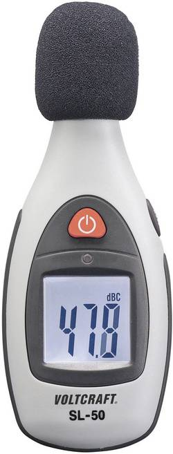 VOLTCRAFT SL-50 merilnik glasnosti, merilnik hrupa 30 Hz - 4 kHz