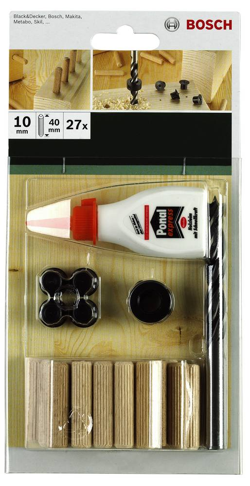 Bosch 2609255305 32-delni komplet vložkov - 6 mm
