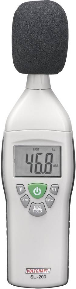 VOLTCRAFT SL-200 merilnik glasnosti, merilnik hrupa 31.5 Hz - 8 kHz