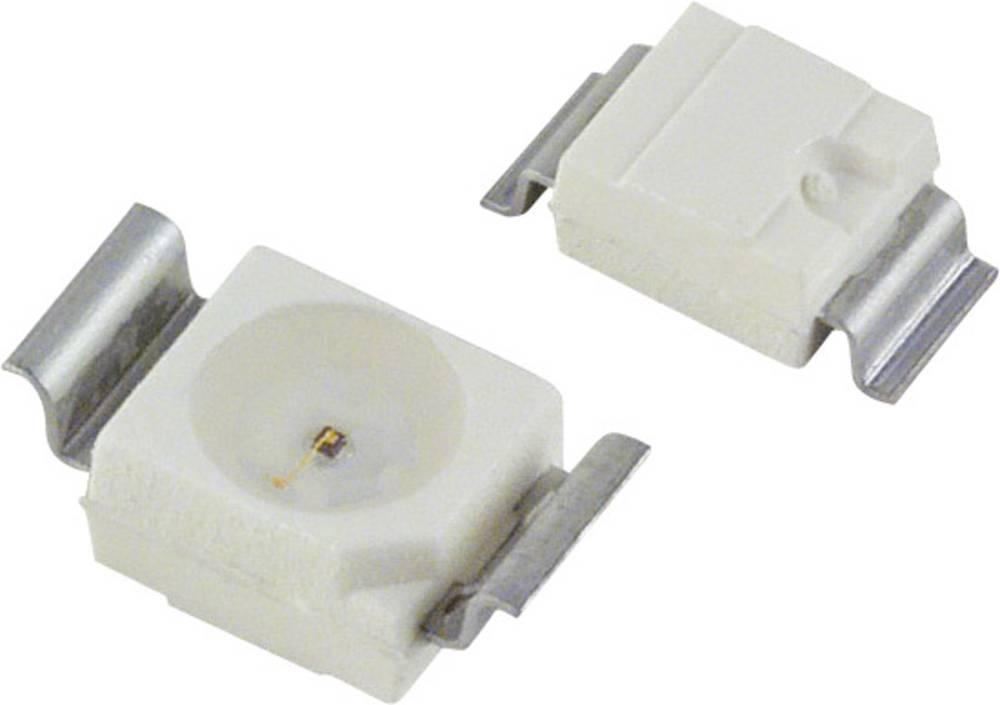 SMD-LED PLCC2 zelena 4 mcd 120 ° 10 mA 2 V OSRAM LG T770-L1M2-1-Z