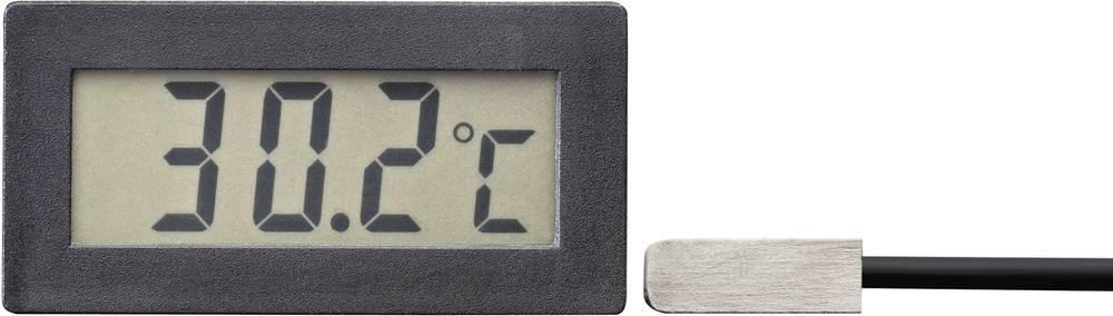 VOLTCRAFT TM-70 LCD-temperaturni modul TM-70 -50 do +70 °C vgradne mere 45.5 x 22 mm